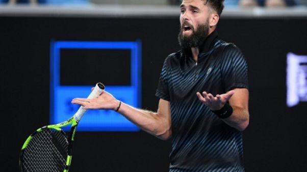 Tennis: Paire éliminé d'entrée par Wawrinka à Rotterdam