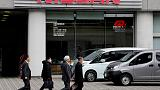 Nissan books $84 million Ghosn-related charges, cuts outlook