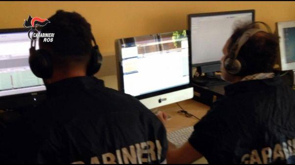 'Ndrangheta:7 arresti e 20 perquisizioni
