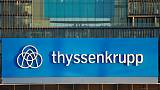 Thyssenkrupp's first-quarter operating profit dives 26 percent as macro woes drag
