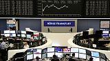 الأسهم الأوروبية ترتفع بفضل تفاؤل بشأن محادثات التجارة