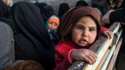 """Dans l'est syrien, les enfants du """"califat"""" moribond de l'EI"""