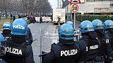 Scontri Torino, tutela anche a pm