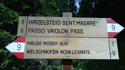 Toponomastica, legge Bolzano da abrogare