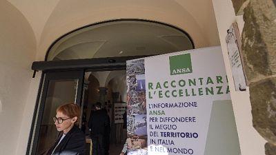 Raccontare l'eccellenza,l'ANSA in Umbria