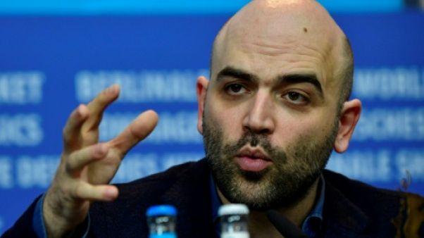 "Berlinale: Roberto Saviano affirme qu'il ""ne se laissera pas intimider"" par Salvini"