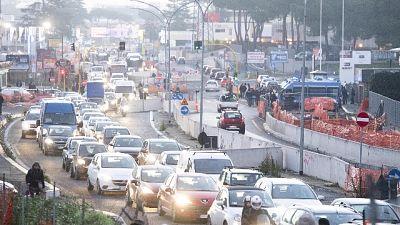 Roma: decima al mondo per il traffico
