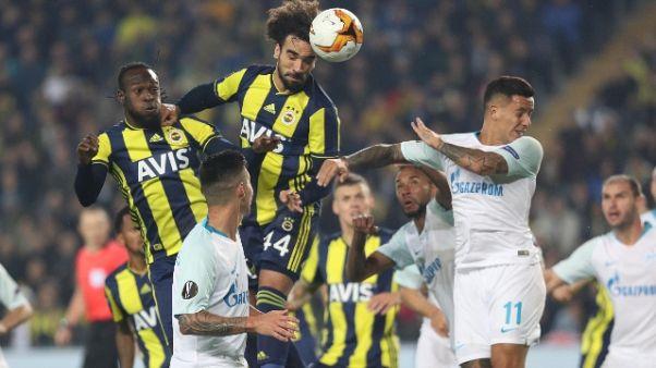 Europa League: Fenerbahce-Zenit 1-0