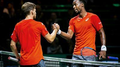 Tennis: Monfils passe, Simon et Herbert sortis au 1er tour à Rotterdam