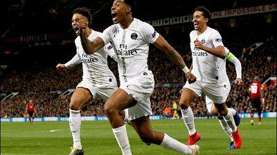 Champions: Manchester United-Psg 0-2
