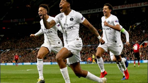 Champions: Manchester United-Psg 0-2