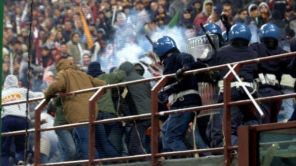 Calcio:Ps,in girone andata meno violenze