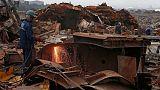 Exclusive: Iran-backed groups corner Iraq's postwar scrap metal market - sources