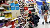 UK inflation falls to two-year low, offering households help before Brexit