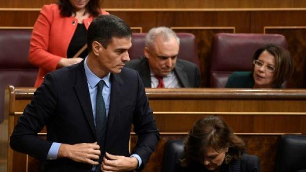 Espagne: Sanchez annoncera vendredi d'éventuelles élections