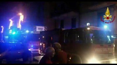 Rogo in palazzo Catania, residenti salvi