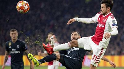 Champions: Ajax-Real Madrid 1-2