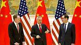 Reprise à Pékin des négociations commerciales Chine-USA