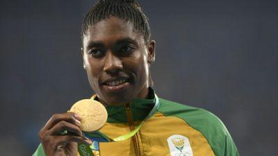 """L'IAAF dément qu'elle voudrait classer Semenya comme un """"mâle biologique"""""""