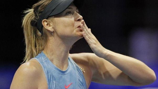 Sharapova infortunata,salta Indian Wells