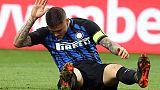 Inter: Icardi si allena ad Appiano