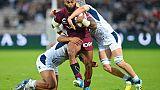 Top 14: Radradra-Tamanivalu encore au centre des attentes de Bordeaux-Bègles