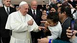 'Few have too much': Pope condemns global food inequality