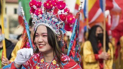 Capodanno cinese, festeggiamenti a Prato