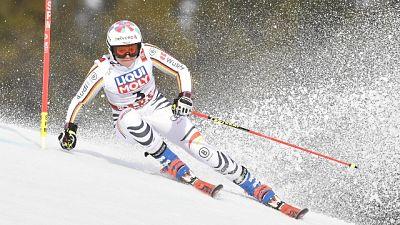 Mondiali sci: Rebensburg guida gigante