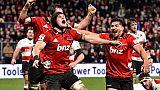 Super Rugby: les Crusaders en quête d'un deuxième triplé