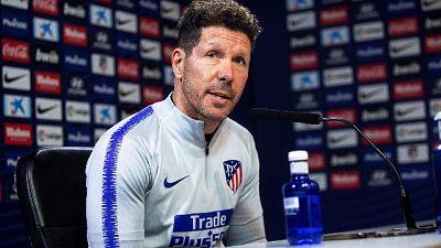 Simeone allenerà l'Atletico fino al 2022