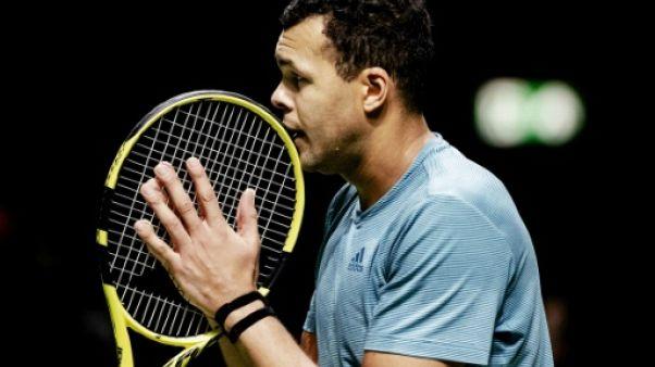 ATP: Tsonga qualifié pour les quarts de finale à Rotterdam