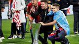 Simeone renews Atletico contract until 2022