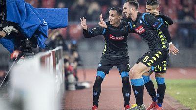 Europa League: Zurigo-Napoli 1-3