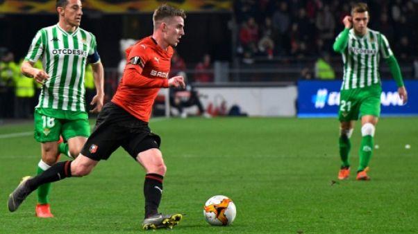 Ligue Europa: désillusion pour Rennes contre le Betis Séville