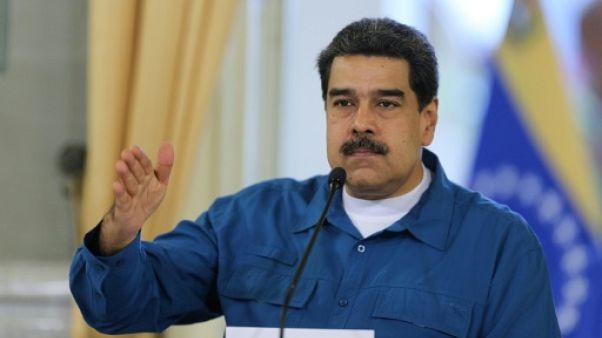 Le président vénézuélien Nicolas Maduro, le 13 février 2019 à Caracas