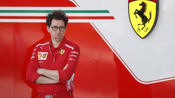 F1: Binotto, portiamo avanti sogno Drake