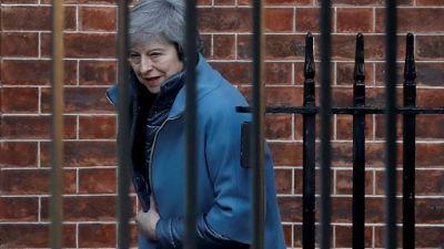 La Première ministre Theresa May, le 14 février 2019 à Londres