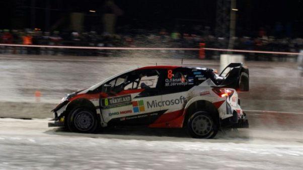 Rallye de Suède: Tänak en tête à la mi-journée, Loeb lutte et Grönholm abandonne