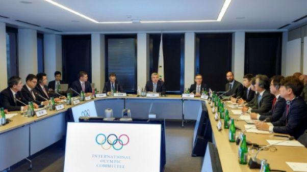 JO Tokyo-2020: réunion au CIO sur une équipe coréenne unifiée