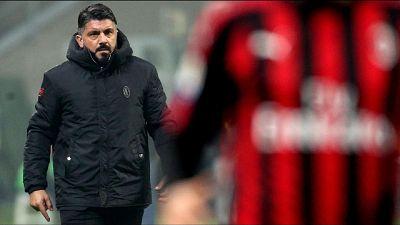 Gattuso, contro l'Atalanta serve elmetto