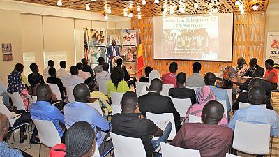 Le groupe d'Initiative de leadership des jeunes Africains se réunit à l'Ambassade