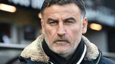 Ligue 1: Christophe Galtier (Lille) suspendu contre Strasbourg et Dijon