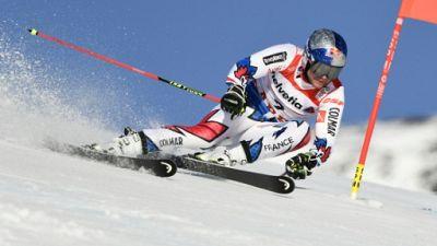 Mondiaux de ski: Pinturault en tête après la 1re manche du géant