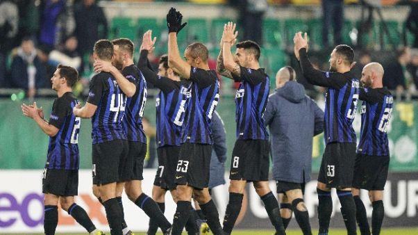 Snai: Inter favorita contro la Samp