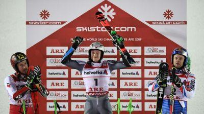 Ski alpin: Kristoffersen remporte le géant, son premier titre de champion du monde