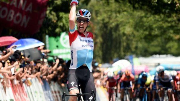 Tour de Colombie: coup double pour le Luxembourgeois Jungels à la 4e étape