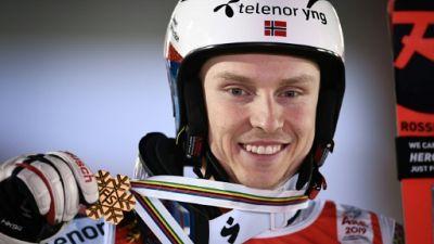 """Mondiaux de ski: """"Il était temps!"""" pour Kristoffersen"""