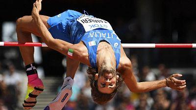Atletica: show Tamberi, salta 2,32