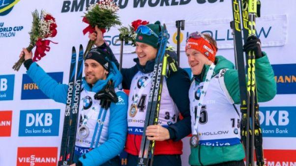 Biathlon: première pour Christiansen, une déconvenue et un globe pour Boe